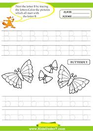letters to print and trace 7 alphabet worksheets trace and print letter b