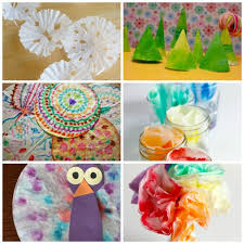 24 coffee filter crafts to make make and takes