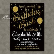 Invitation Cards For 50th Birthday Party 50th Birthday Invitations For Her Templates Egreeting Ecards