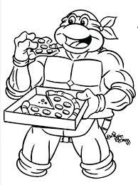 coloring pages teenage mutant ninja turtles coloring teenage