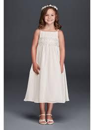 baby doll dresses spaghetti chiffon baby doll dress david s bridal