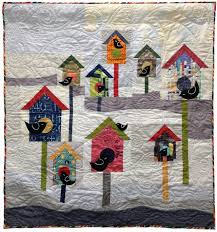 birdhouse quilt pattern sneak a peek at a new birdhouse quilt from laura and pati s sew day
