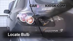 mazda 3 tail lights tail light change 2004 2009 mazda 3 2008 mazda 3 s 2 3l 4 cyl