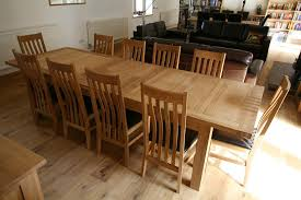12 Seater Oak Dining Table 12 Seater Dining Table Fair Design Ideas Extending Dining
