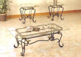 wrought iron end tables 50 best collection of glass topped coffee tables wrought iron