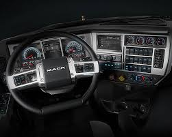 mack trucks updates mack granite models interiors