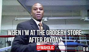 Me On Payday Meme - when i m at the grocery store after payday