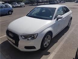 white audi sedan 2017 audi a3 sedan 1 4 tfsi s tronic white with 18850km available
