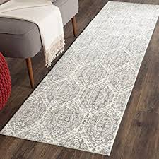 Mauve Runner Rug Safavieh Valencia Collection Val118c Grey And