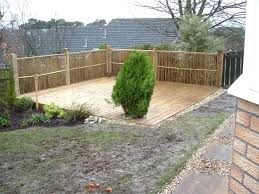 decking designs for small gardens back garden decking ideas images