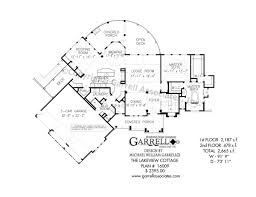 2nd floor house plan lakeview cottage house plans by garrell associates inc
