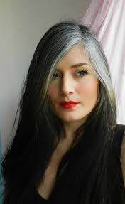 how to get gorgeous salt and pepper hair best 25 grey hair streak ideas on pinterest streaks in hair