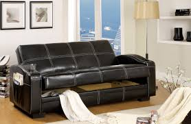 Sleeper Sofa With Storage Hokku Designs Clifton Storage Sleeper Sofa Reviews Wayfair