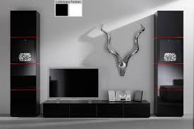 Wohnzimmerschrank Lack Wohnwand Weiß Schwarz Hochglanz Mxpweb Com