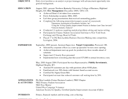 student entry level resume resume 8 sample college student resume no work experience