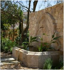 backyards cool image of backyard water fountains and pond 94
