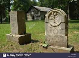 sister site gravesites of hannah and squire boone brother sister of daniel
