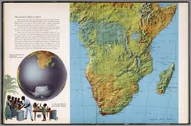 Map Of Southern Africa by The Souther Half Of Africa David Rumsey Historical Map Collection