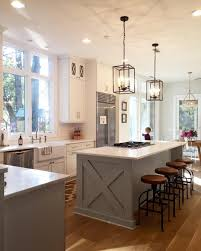 Kitchens With Different Colored Islands by Fixer Upper Season 2 Clint Harp Black Granite Countertops And