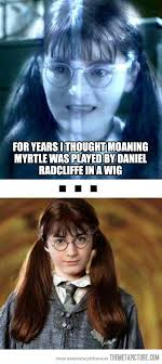 Daniel Radcliffe Meme - daniel radcliffe in a wig the meta picture