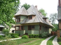 Frank Lloyd Wright Style House Plans Thomas H Gale House Wikipedia