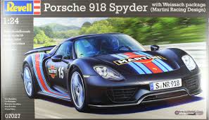 martini porsche 918 revell porsche 918 standard and weissach vehicle reviews