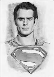 man of steel henry cavill portrait by edrayed on deviantart