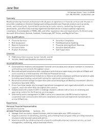 sample resume for promotion professional personal financial representative templates to professional personal financial representative templates to showcase your talent myperfectresume
