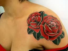 tattoo roses on shoulder 67 elegant flowers shoulder tattoos