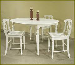 Small White Kitchen Table And  Chairs Monroe White High Gloss - Ebay kitchen table