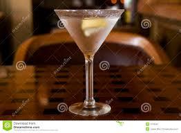 martini twist martini with a twist of lemon stock photo image 7013542