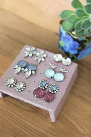 how to make an earring holder for studs how to clay earring stand for your studs sisoo