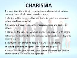 charismatic leadership robert jerus sphr always on your mind