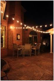String Outdoor Patio Lights Ideas For Outdoor Patio Lighting Inspire Easy To Zig Zag String