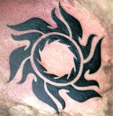 simple tribal sun meaning on chest insigniatattoo com