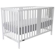 4 In 1 Convertible Crib White Kidiway Gab 4 In 1 Convertible Crib White Ba Cribs Best For White