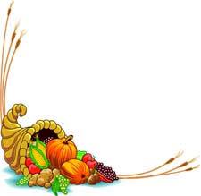 Thanksgiving Borders Clip Thanksgiving Border Clipart Clipartxtras