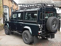 2000 land rover lifted land rover defender bowler 110 xs station wagon bowler fast road