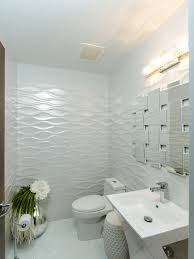 Powder Room Powell Ohio - modern powder room with daltile gallery white ceramic field tile
