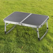 Outdoor Table Ls Two Folded Table Adjustable Light Weight Table Portable Aluminum