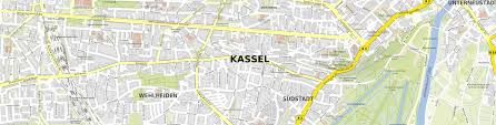 Kassel Germany Map by Download Map Kassel