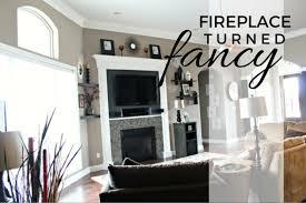 Fancy Fireplace by Modern Fireplace Makeover