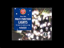 multi function christmas lights 200x warm white led multi function christmas lights glowtopia