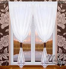 Patio Door Net Curtains Voile Curtains Mforstyle