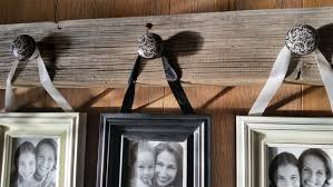 Frame Display Barnboard 4 Photo Picture Hanger Repurposed Photo