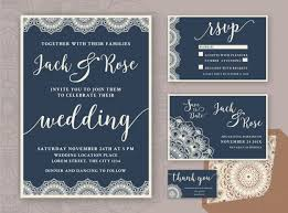 Rustic Save The Date Rustic Wedding Invitation Design Template Include Rsvp Card Save