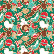 christmas pattern christmas pattern harumo bakery illustration