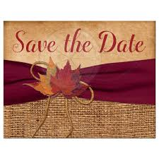 rustic save the date rustic wedding save the date postcard printed wine ribbon