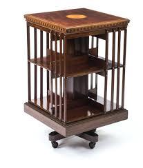 Mahogany Bookcases Uk Bookcase Antique Revolving Bookcase Pair Of Impressive English
