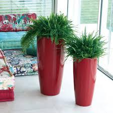 vaso resina bianco vaso di design alto talos gloss nicoli